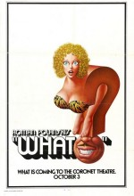 What? (1972) afişi
