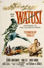 Watusi (1959) afişi