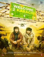 Welcome to Karachi (2015) afişi