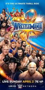 WrestleMania 33 (2017) afişi
