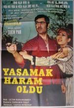 Yaşamak Haram Oldu (1968) afişi