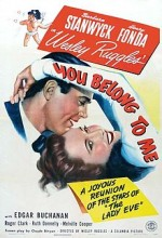 You Belong To Me (1941) afişi
