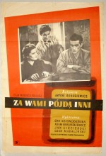 Za Wami Pójda Inni (1949) afişi