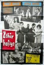 Zehir Hafiye (1963) afişi