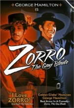 Zorro, The Gay Blade (1981) afişi