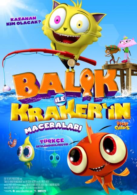 Balık İle Kraker'in Maceraları