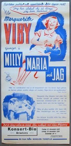 Milly, Maria Och Jag