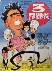 Tre Piger I Paris