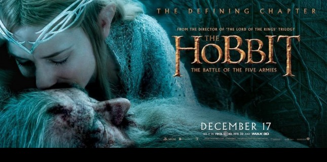 Hobbit 3'ten Yeni Poster ve Banner'lar Geldi!
