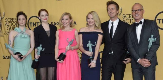 SAG Ödülleri'nden 'Birdman' Çıktı!