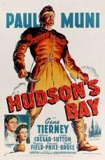 Hudson's Bay (1941) afişi