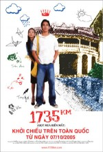 1735 Km (2005) afişi