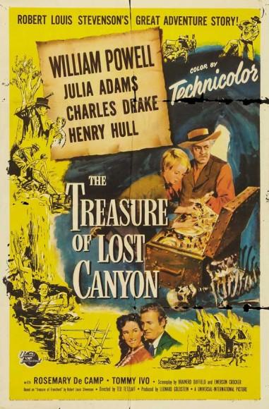 The Treasure Of Lost Canyon (1952) afişi