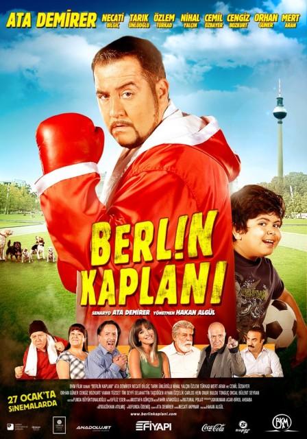 Berlin Kaplanı (2012) afişi