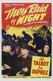 They Raid by Night (1942) afişi