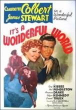 It's a Wonderful World (1939) afişi