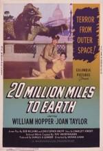 Dünyaya Yirmi Milyon Mil (1957) afişi
