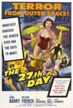 27. Gün (1957) afişi