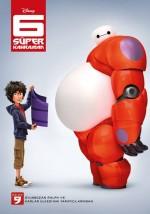 6 Süper Kahraman (2014) afişi