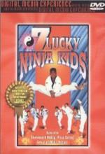 7 Lucky Ninja Kids (1989) afişi