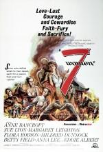 7 Women (1966) afişi