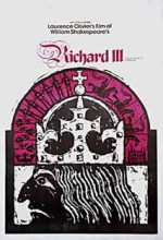 III. Richard (1955) afişi
