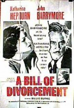 A Bill Of Divorcement (1932) afişi