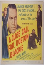 A Close Call For Boston Blackie (1946) afişi