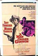 A Man Called Gannon (1968) afişi
