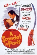 A Scandal in Paris (1946) afişi