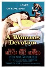 A Woman's Devotion (1956) afişi