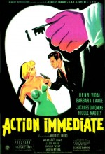 Action Immédiate (1957) afişi