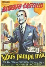 Adiós Pampa Mía (1946) afişi