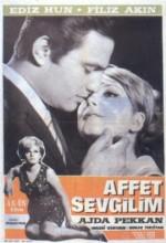 Affet Sevgilim (1966) afişi