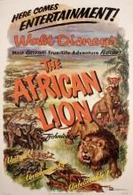 Afrikalı Aslan (1955) afişi