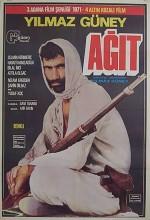 Ağıt (1971) afişi