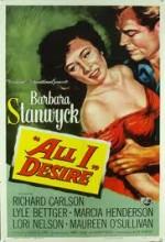 All I Desire (1953) afişi