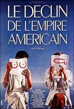Amerikan imparatorluğunun çöküşü (1986) afişi