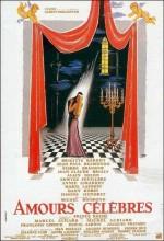 Amours Célébres (1961) afişi