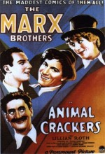 Animal Crackers (1930) afişi