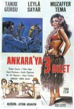 Ankara'ya üç Bilet (1964) afişi