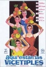 Aquí Están Las Vicetiples (1961) afişi
