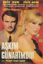 Aşkım Günahımdır. (1968) afişi