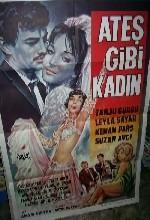 Ateş Gibi Kadın (1965) afişi