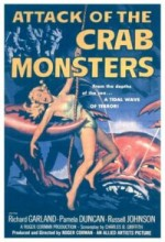Attack Of The Crab Monsters (1957) afişi