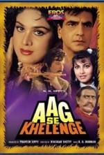 Aag Se Khelenge (1989) afişi
