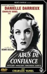 Abus de confiance (1937) afişi