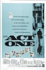 Act One (1963) afişi
