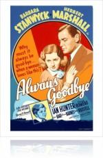 Always Goodbye (1938) afişi