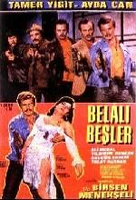 Belalı Beşler (1968) afişi